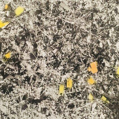 glitter /// coloured print (12x8,5 cm)
