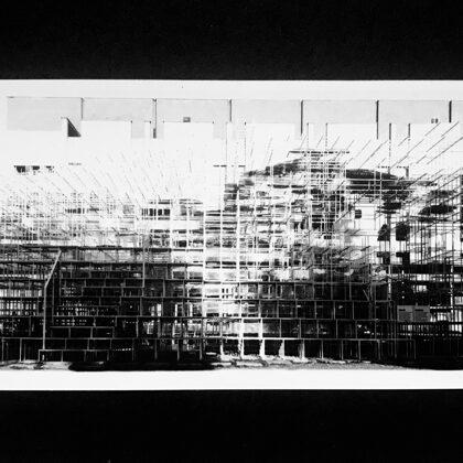 National Gallery of Fine Arts /// print on cardboard (20,5x11 cm)
