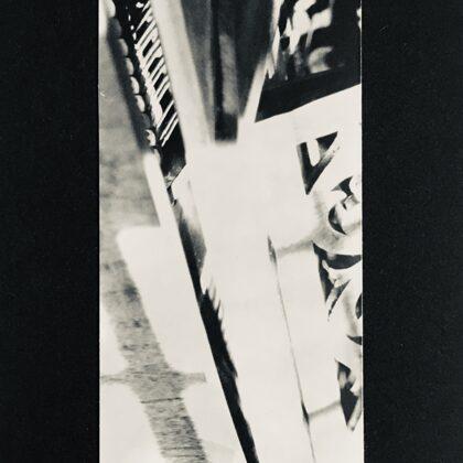 dźwięk /// print on cardboard (6x13,5 cm)